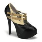 TEEZE-24 Two-tone Platform Pumps