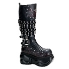 BOXER-201 Demonia Gothic Bullet Boots