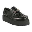 V-CREEPER-509 Black Creeper Shoes
