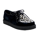 CREEPER-600 Mens Cheetah Creeper Shoes