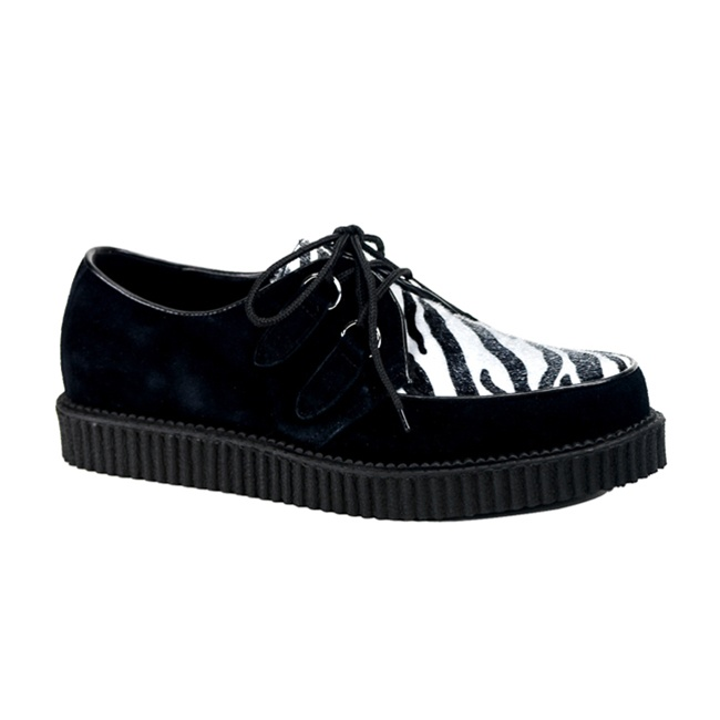 Shop men's creepers, Demonia creepers, black creepers and white creepers for a cheap price. SHIPS FREE from Los Angeles, California. Shop for pleaser shoes,pleaser heels and bordello shoes at cheap discount prices. Whether you need 7 inch heels or 8 inch heels, we carry the hottest, sexiest and most unique stripper heels and stripper boots.