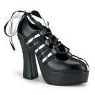 DEMON-13 Ribbon Platform Pumps