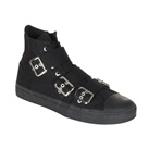 High-Top Buckle Sneakers