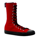 DEVIANT-201 High Top Gothic Sneaker Boots