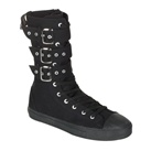 DEVIANT-202 Men's Gothic High Top Buckle Sneaker Boot