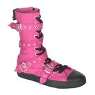 Demonia DEVIANT-204 Multi-strap High Top Sneaker