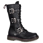 DISORDER-303 3-Strap Combat Boots