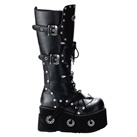 FURIOUS-301 Demonia Platform Knee Boots