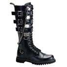 GRAVEL-23 Knee High Demonia Combat Boots
