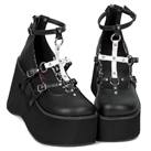 KERA-09 Wedge Platform Shoes