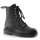RAGE-100 Womens 8-eye Combat Boots