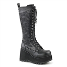 SCENE-107 Monster Stitch Platform Boots