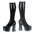 SLICK-100 Knee High Platform Boots