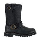 STEAM BOOT Black Steampunk Boots