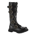 STEAM-20 Demonia Knee High Steampunk Boots