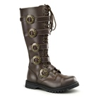 STEAM-20 Brown Demonia Steampunk Boots