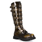 STEAM-30 Demonia Bronze Steampunk Boots