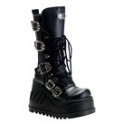 STOMP-101 Wedge Platform Boots