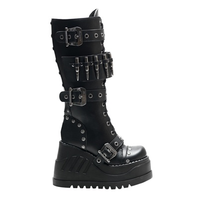 STOMP-314 Gothic Wedge Platform Boots