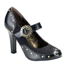 TESLA-03 Steampunk Mary Jane Shoes