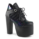 Demonia TORMENT-216 Gothic Platform Ankle Boots