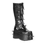 WICKED-800 Spiked Demonia Gothic Platform Boots