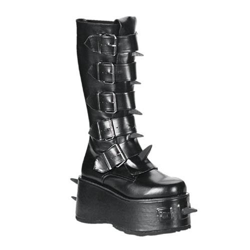 Demonia Wicked 800 Spiked Gothic Platform Boots Demonia