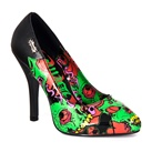 ZOMBIE-04 Psychobilly Monster Print Heels