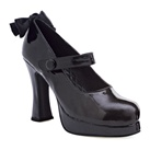 Gothic lolita chunky heel mary jane platform shoes