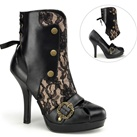 CTHULHU-62 Demonia Gothic Steampunk Pumps