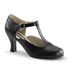 FLAPPER-26 Black Victorian Shoes