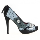 Iron Fist ZOMBIE STOMPER Platform Pumps