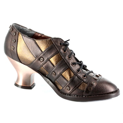 Metropolis Shoes JADE Steampunk Shoes