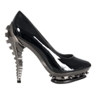 Metropolis Shoes Steampunk PREDATOR Pump