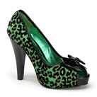 BETTIE-12 Cheetah Print Pumps