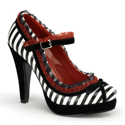 Bettie-18 High Heel Mary Jane Pump