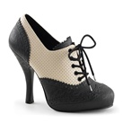 CUTIEPIE-14 Two-tone Lace-up Heels