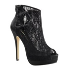 BELLA-28 Black Lace Gothic Bootie