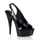 DELIGHT-654 Slingback Platform Pumps