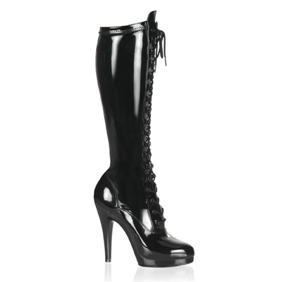 FLAIR-2023 Lace-up Knee Boots