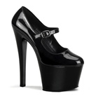 SKY-387 Black Mary Jane Heels