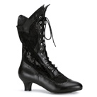 DAME-115 Lace Victorian Boots