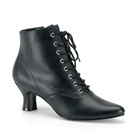 VICTORIAN-35 Victorian Style Ankle Boots
