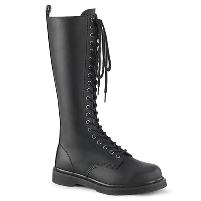 BOLT-400 Black 20-eye Combat Boots