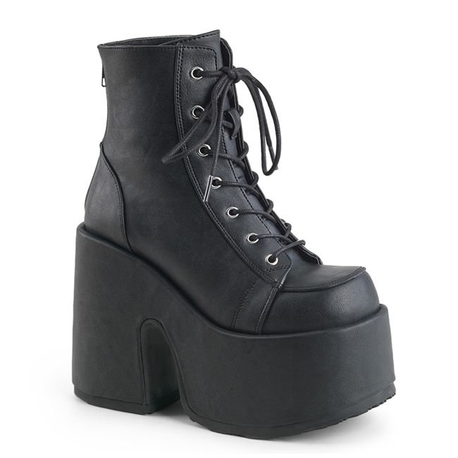 Demonia CAMEL-203 Black Gothic Platform