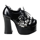 CHARADE-34 Skull Stud Platform Shoes
