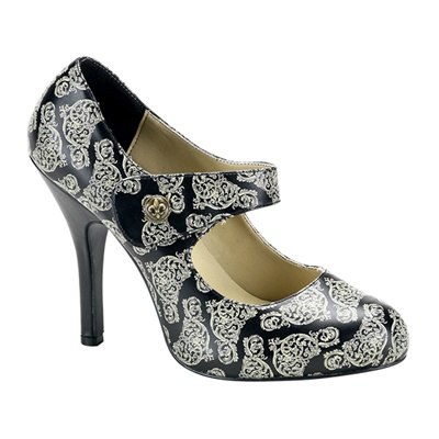 CORDELIA-31 Steampunk Mary Jane Pumps