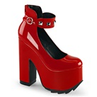 Demonia CRAMPS-03 Studded Platform Shoes