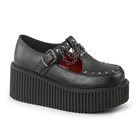 CREEPER-215 Gothic Platform Creeper Shoes