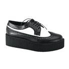 CREEPER-408 Wingtip Creeper Shoes